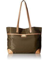 c40a8c5db92 Calvin Klein - Teodora Nylon Front Zipper Pocket Tote - Lyst