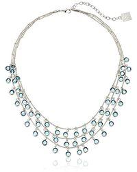 Anne Klein - Beacon Shaky Necklace - Lyst