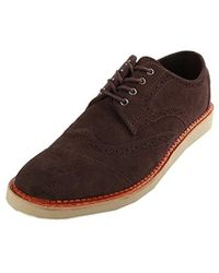 f846db06f98 Lyst - Men s TOMS Brogues On Sale
