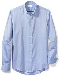 6414a6ab Buttoned Down - Slim Fit Cutaway-collar Supima Cotton Dress Casual Shirt -  Lyst