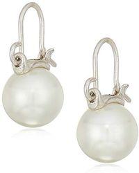 The Sak - Cap Pearl Drop Earrings - Lyst