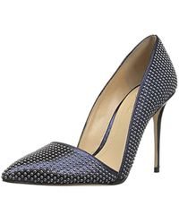 43576de4bce Lyst - Imagine Vince Camuto Ossie D orsay Pointed Toe Pumps in Metallic