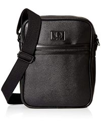 Fred Perry - Saffiano Side Bag - Lyst