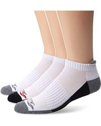 Saucony - 3 Pack Classic Runner No-show Socks - Lyst