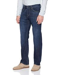 7 For All Mankind - Carsen Easy Straight-leg Jean - Lyst