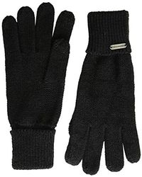 Steve Madden - S Solid Boyfriend Itouch Gloves - Lyst
