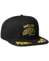8c36e4b46c6 Lyst - Trapstar Decoded Logo Snapback Cap in Black for Men