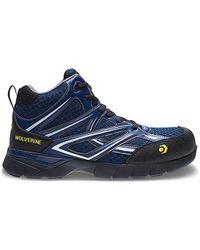 Wolverine - Jetstream Mid Athletic Composite Toe Work Shoe - Lyst