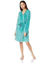Maidenform - Fleece Hooded Robe - Lyst