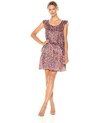 BCBGeneration - Elasticated Ruffle Dress - Lyst