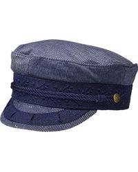 13186ecd32d Brixton - Albany Greek Fisherman Hat - Lyst
