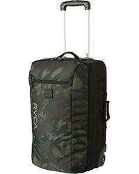 RVCA - Eastern Small Roller Bag Travel Luggage - Lyst