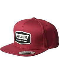 Lyst - Volcom Peace Wing Hat in Blue for Men ef0803273299