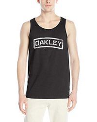 0eb43707a0894 Lyst - Carhartt Logo Printed Cotton Tank Top in Black for Men