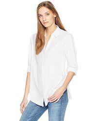 NYDJ - Classic Lawn Shirt - Lyst