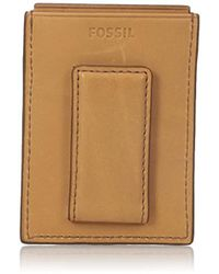 Fossil - Rfid Card Case Wallet - Lyst