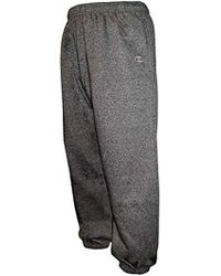 7e211e9a3dc Champion - Big-tall Fleece Sweatpants With Elastic Waistband And Drawstring  - Lyst