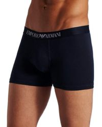 Emporio Armani - Cotton Stretch Boxer Brief - Lyst