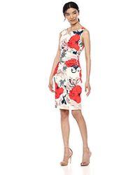 Ivanka Trump - Denim Starburst Dress - Lyst