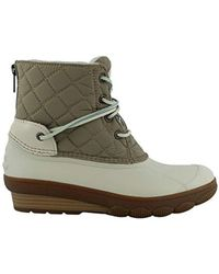 Sperry Top-Sider - Saltwater Wedge Tide Rain Boot - Lyst