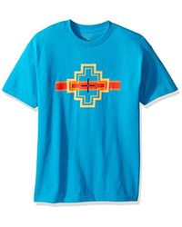 Pendleton - Short Sleeve Crew Neck Graphic Tee - Lyst