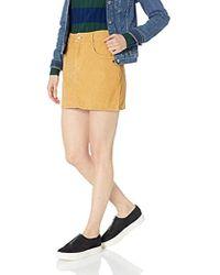 Roxy - Java To Lombok Corduroy Skirt - Lyst