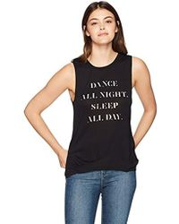8146001b6bc32f Betsey Johnson - Dance All Night High Low Muscle Tank - Lyst