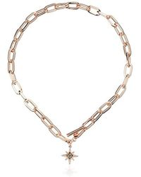 Rebecca Minkoff - Signature Link Star Charm Chain Necklace - Lyst