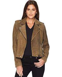 Lucky Brand - Helen Leather Moto Jacket - Lyst