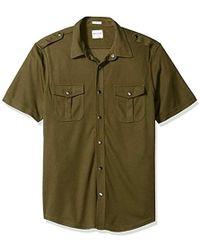 Guess - Dean Mesh Shirt - Lyst