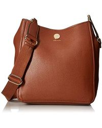 Anne Klein - A Hinge Soft Bucket Bag - Lyst