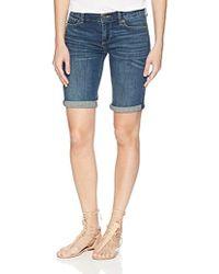 Lucky Brand - Mid Rise Bermuda Jean Short In Marana - Lyst