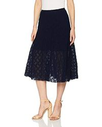 Only Hearts - Stretch Lace Midi Skirt Lined - Lyst