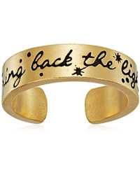 ALEX AND ANI - Wrinkle In Time - Bring Back The Light Adjustable Ring - Lyst