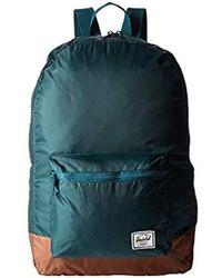 23a3874ba83e Lyst - Herschel Supply Co. Packable Daypack in Blue for Men