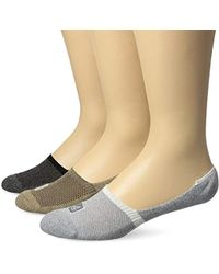 Sperry Top-Sider - 3 Pack Solid Marl 1/2 Cushion Mid Vamp Liner Sock - Lyst