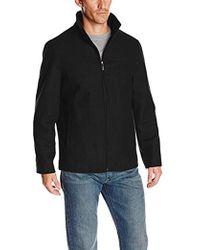 Perry Ellis - Size Tall Melton Wool Jacket - Lyst