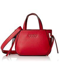 34ee48b202 Lyst - Violet Ray Lizzy Faux-suede Zip Crossbody Bag in Brown