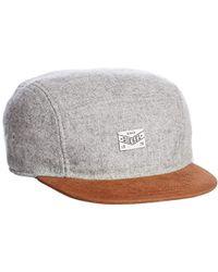 782118072cc Lyst - Diesel Wool Fedora Hat in Red for Men