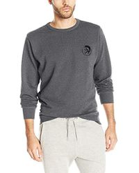 DIESEL - Willy Mohican Lounge Crew Sweat Shirt - Lyst