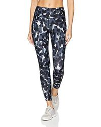 466480ae6e2ed Betsey Johnson Floral Embroidered Leggings in Black - Lyst