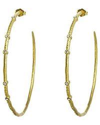 Dogeared - Halo Hoop Earrings, - Lyst