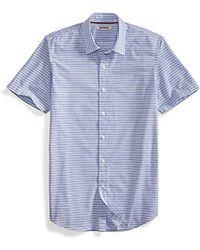 Goodthreads - Short-sleeve Horizontal Stripe Shirt - Lyst