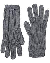 Badgley Mischka - Honeycomb Knit Glove - Lyst