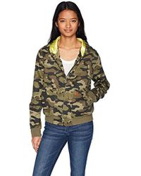 Volcom - Frochickie Bomber Hooded Jacket - Lyst