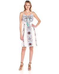 Plenty by Tracy Reese - Embroidered Dress - Lyst