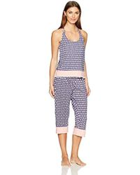 Juicy Couture - Black Label Strappy Cami And Crop Pant - Lyst