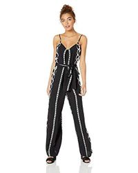 Natori - Printed Woven Jumpsuit - Lyst
