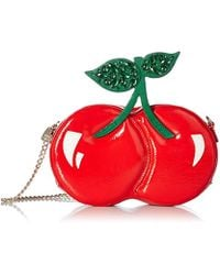 Betsey Johnson - Tie The Knot Cherry Shoulder Bag - Lyst