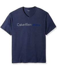 86f24d56373b Calvin Klein Men's Boreos 2 Relaxed Fit Crew Neck Tshirt in Green ...